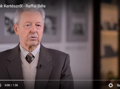 Emlékeink Kertészről - Raffai Béla