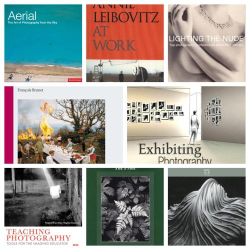 10 fotós könyv a ma 21 éves szakkönyvtárunk állományából, melyet online is átlapozhatsz