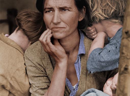 10 utólag színezett ikonikus fotó és története