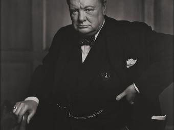 Fotó-kalendárium - Yousuf Karsh: Winston Churchill (1941)
