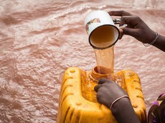Kállai Márton: Etióp kútásók (2012)