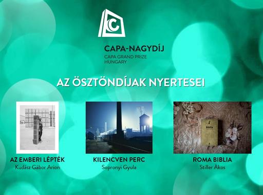 Kudász Gábor Arion a Robert Capa Magyar Fotográfiai Nagydíj nyertese