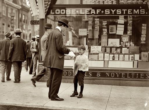 Lewis Hine: Rikkancsok (1908-1913)