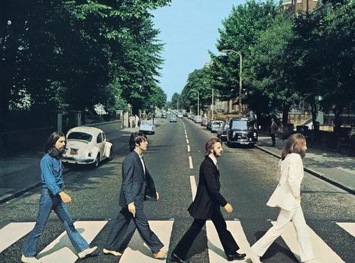 Kép-kockák #7 - Iain Macmillan: A Beatles az Abbey Roadon (1969)