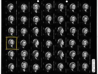 Kép-kockák #22 - Peter Marlow ikonikus portréjának története Margaret Thatcherről (1981)