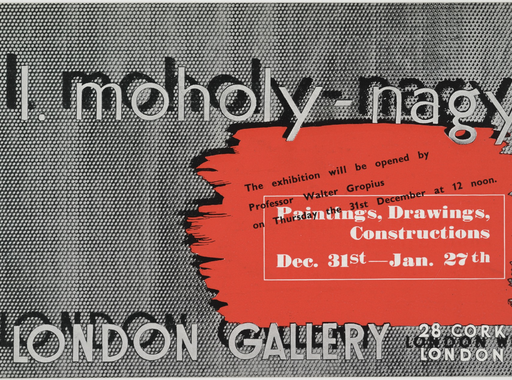 Walter Gropius megnyitóbeszéde Moholy-Nagy László londoni kiállításán (1936. december 31.)