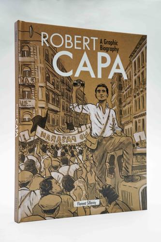 Képregény Robert Capa kalandos életéről (A Mai Manó Könyvesbolt ajánlója)