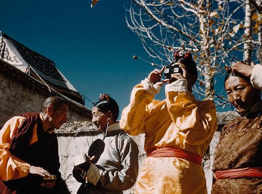 Heinrich Harrer fotói a Hét év Tibetben című könyvéből
