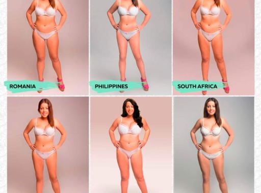 Így változik a szépségideál különböző országokban (Photoshop projekt 2015)