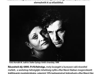 53. Képíró-képolvasó hétvége - Horváth M. Judit és Stalter György vezetésével