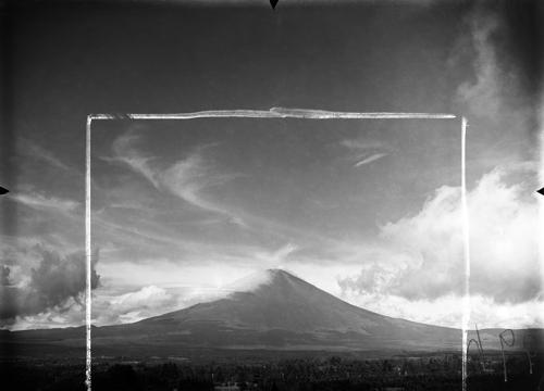 Egy japán fizikus képei a Fudzsi felhőiről az 1930-as évekből