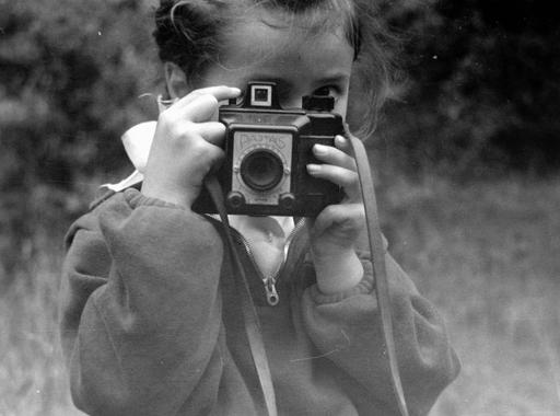 Gyerekek fényképezőgéppel – Válogatás a Fortepan gyűjteményéből