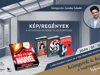 Könyvek & Képek a Napfényműteremből - Kép/regények. A hétköznapok hősei vs szuperhősök