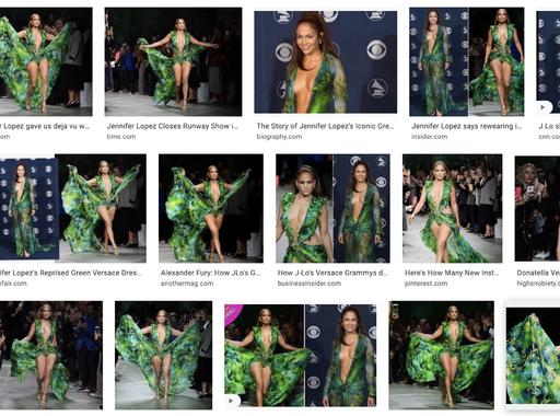 Jennifer Lopeznek és Donatella Versacénak köszönhetjük a Google képkereső funkcióját