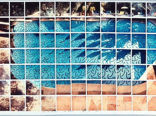 David Hockney különleges polaroid képei (1980-as évek)