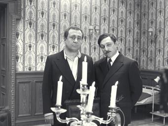 Domonkos Sándor standfotói A tanú című film forgatásáról (1969)