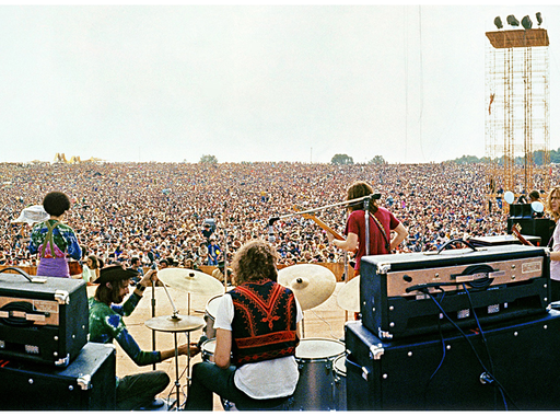 Elliott Landy és John Dominis: Woodstock (1969)