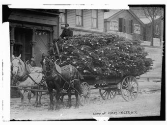 Karácsonyi képek az Amerikai Kongresszusi Könyvtár gyűjteményéből (1908-1941)