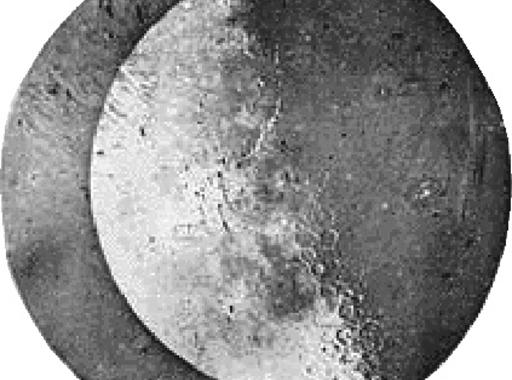 Az első épségben fennmaradt fotó a Holdról