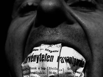 Haris László Törvénytelen avantgarde című fotójának története