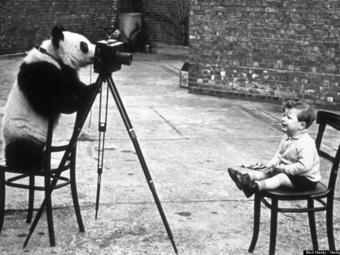Válogatás híres fotográfusok saját gyerekeikről készült képeiből
