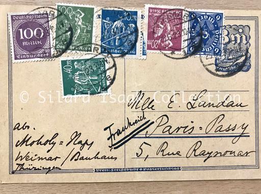 Moholy-Nagy László levele Landau Erzsinek - 1923. október 11.