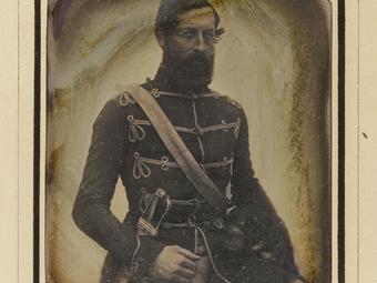 Egy aukción került elő az 1848–49-es forradalom és szabadságharc ismeretlen nemzetőréről készült dagerrotípia