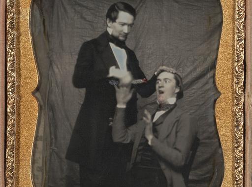 Színezett daguerrotípiák a fényképezés korai szakaszából