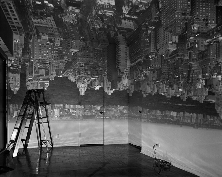 Fotó: Abelardo Morell: Manhattan, Camera Obscura, 1996 © Abelardo Morell