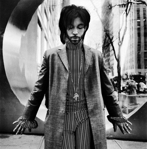 Fotó: Anton Corbijn: Prince, New York, 1999 © Anton Corbijn