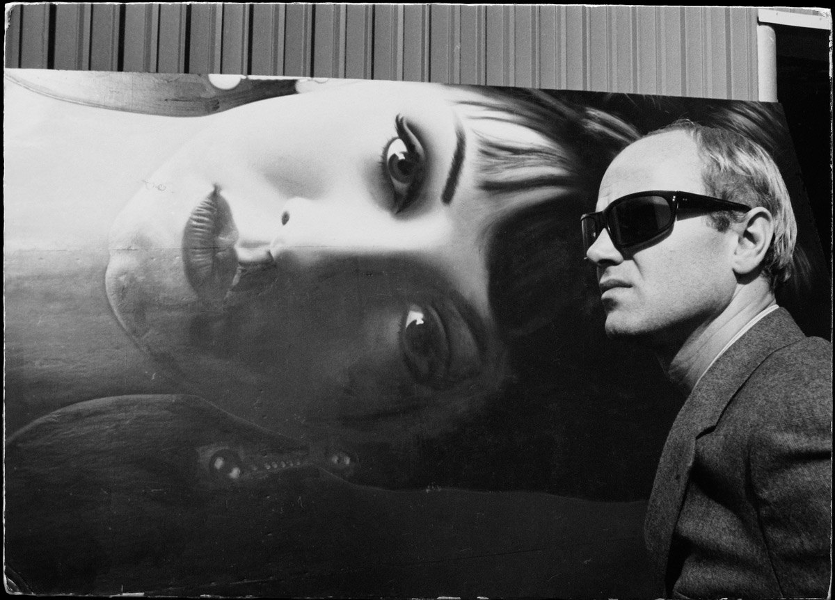 Fotó: Dennis Hopper: James Rosenquist, 1964 © The Dennis Hopper Trust
