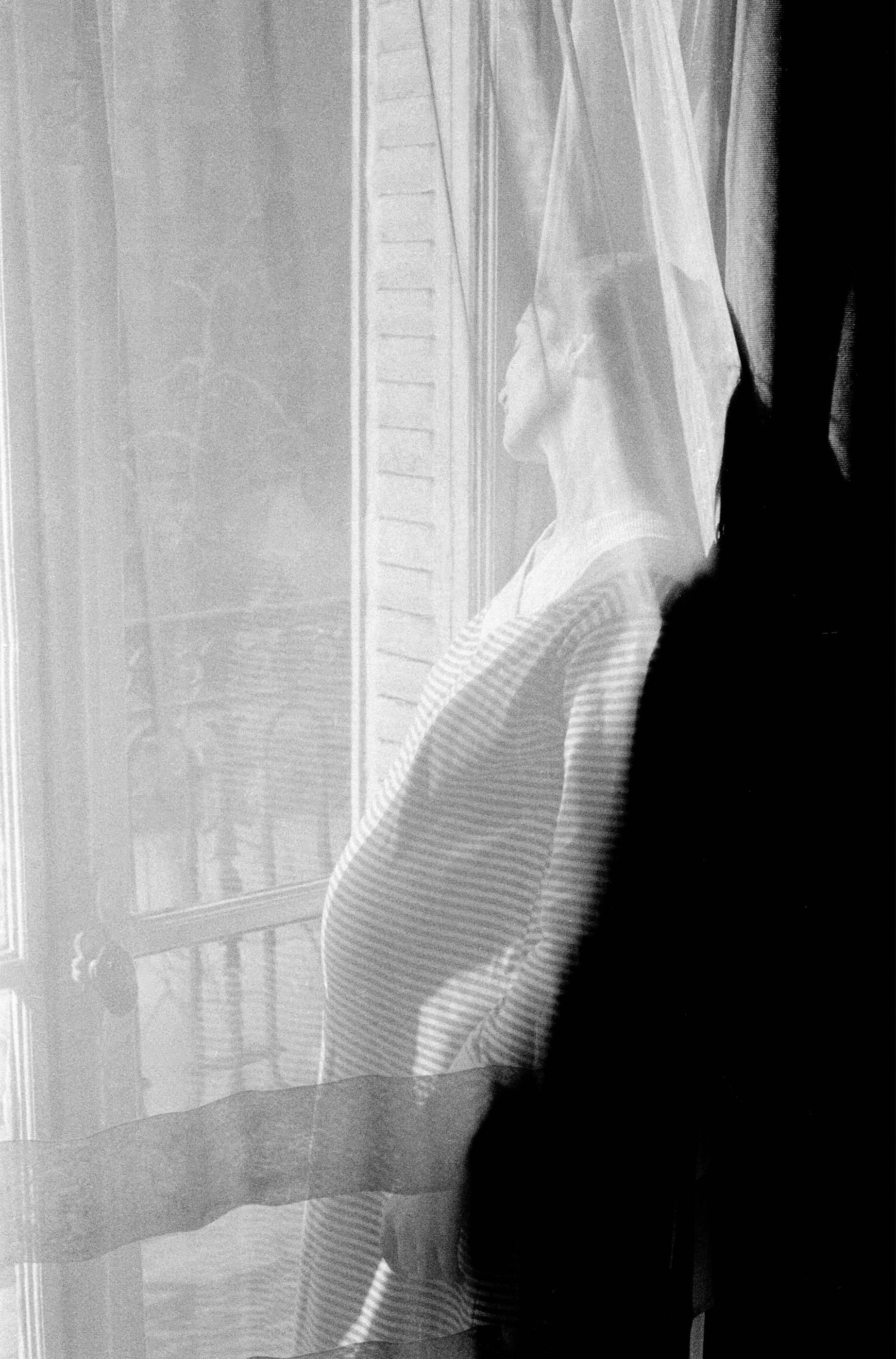 Fotó: Frank Horvat: 1956, Paris, France, Mate pregnant © Frank Horvat