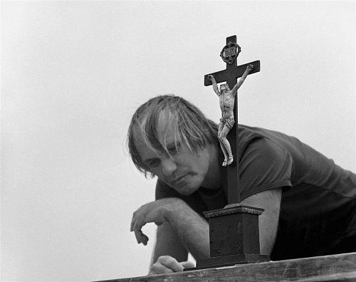 Fotó: Friedmann Endre: Jancsó Miklós filmrendező, 1970 © Friedmann Endre