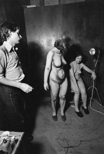 Fotó: Friedmann Endre: Részlet A kulisszák mögött című sorozatból, 1979 © Friedmann Endre