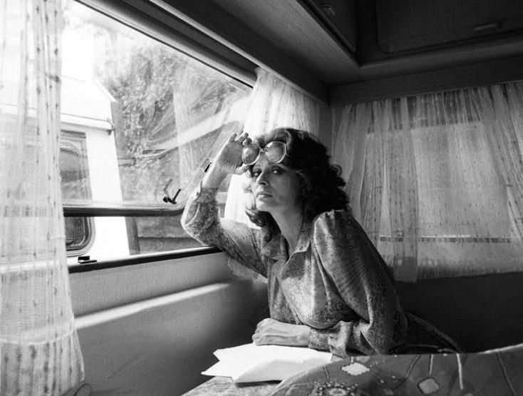 Fotó: Harry Benson: Sophia Lore, Róma, 1984 © Harry Benson