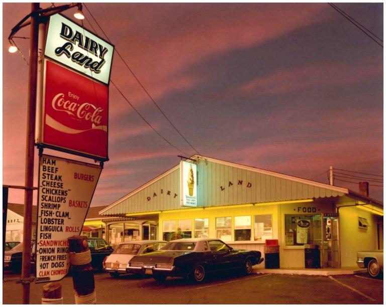 Fotó: Joel Meyerowitz: Dairyland, Provincetown, 1976 © Joel Meyerowitz
