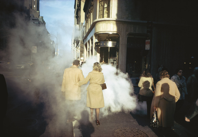 Fotó: Joel Meyerowitz: New York City, 1975 © Joel Meyerowitz