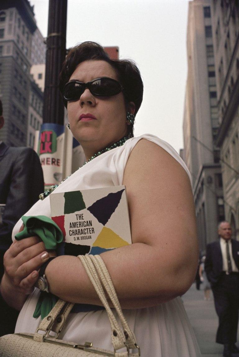 Fotó: Joel Meyerowitz: New York City, 1963 © Joel Meyerowitz