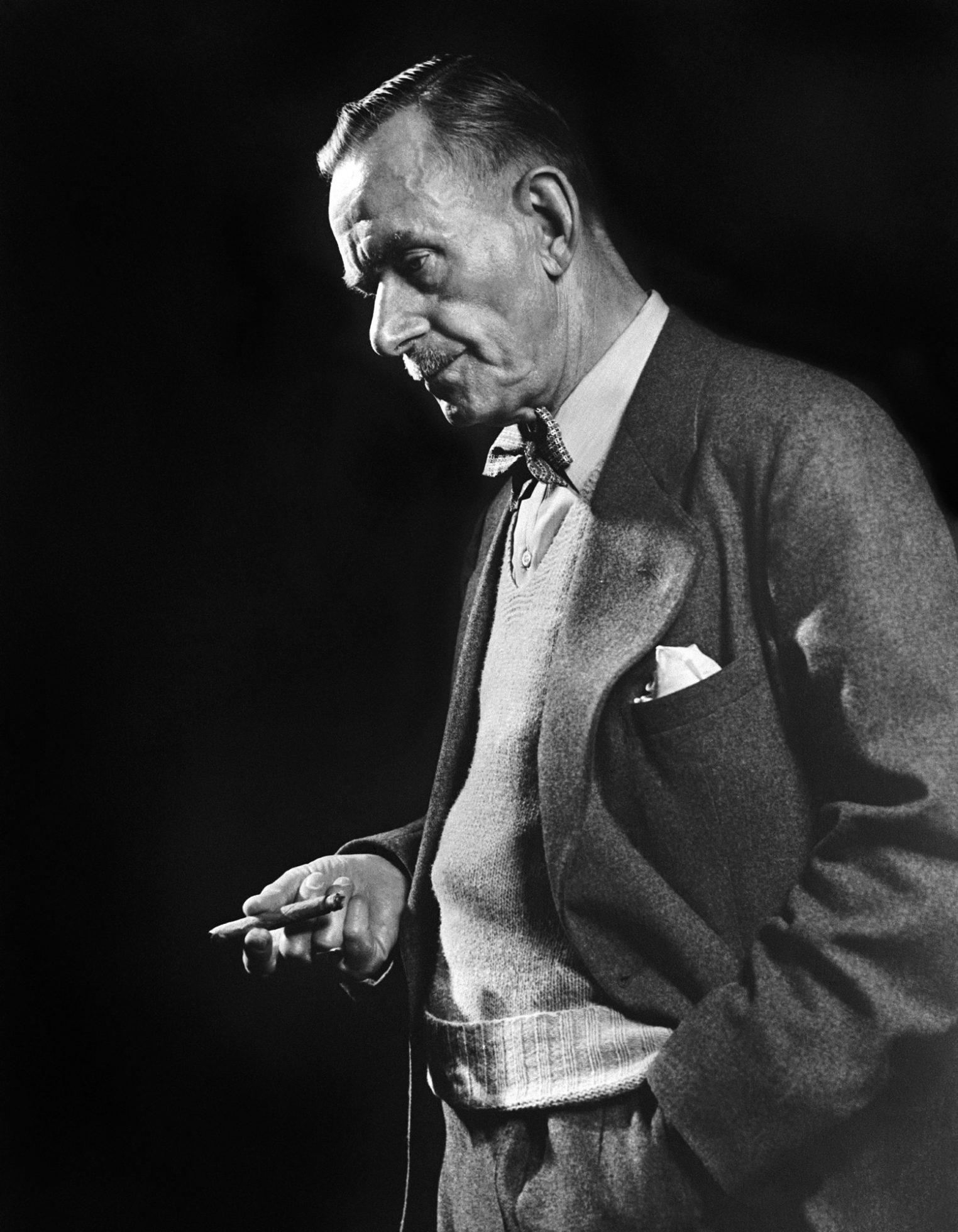 Fotó: Yousuf Karsh: Thomas Mann, 1946 © Yousuf Karsh