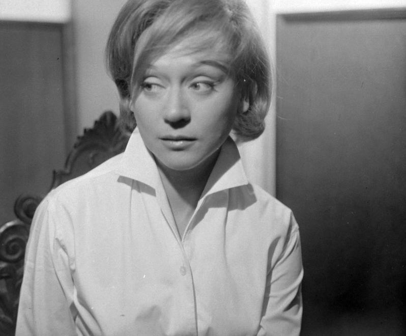 Fotó: Kotnyek Antal: Bánki Zsuzsa színművésznő, 1963 © Kotnyek Antal/Fortepan.hu