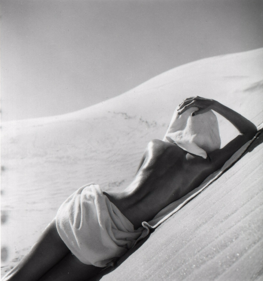 Fotó: Louise Dahl-Wolfe: California Desert, 1948 © Louise Dahl-Wolfe