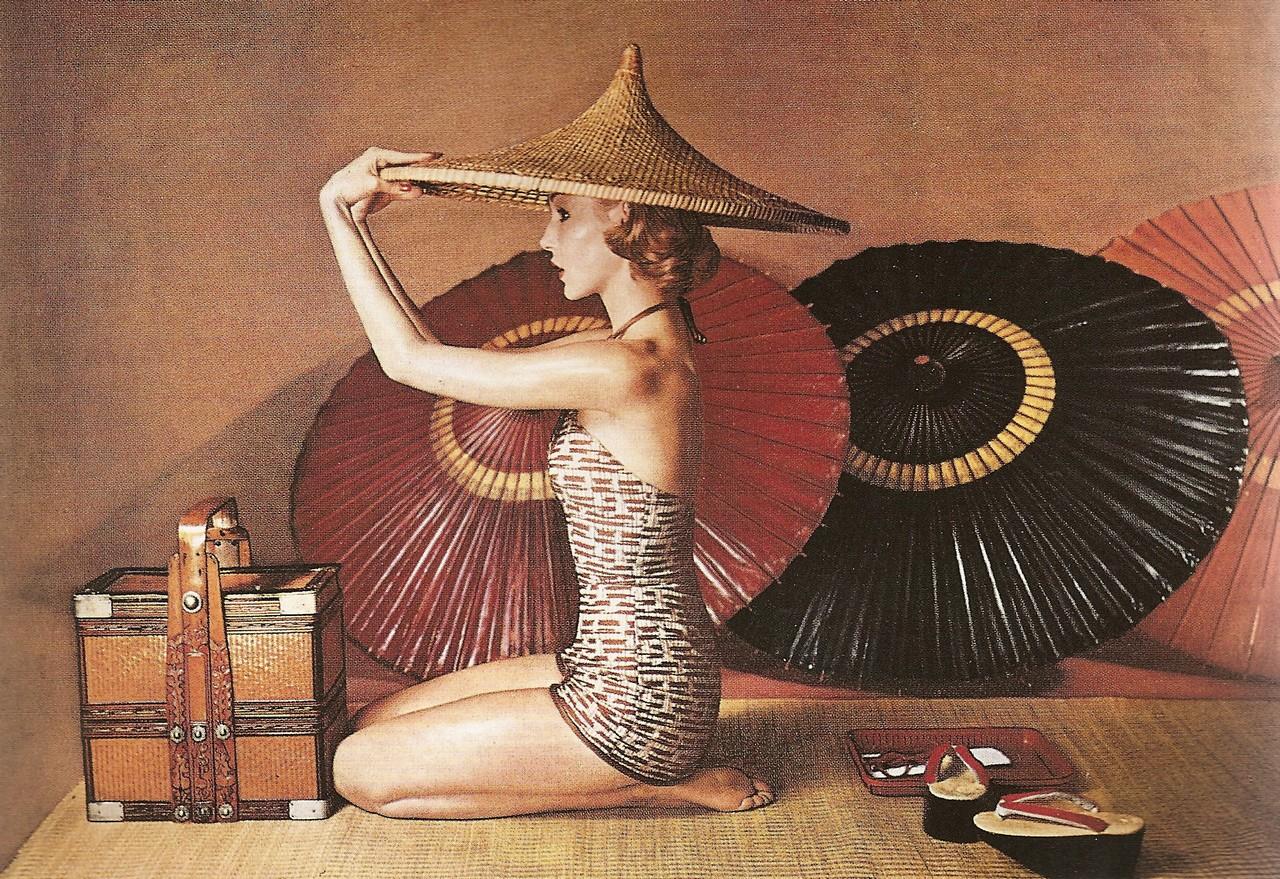 Fotó: Louise Dahl-Wolfe: Harper's Bazaar, 1952 © Louise Dahl-Wolfe