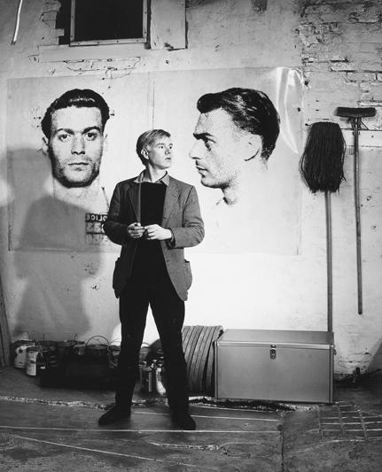 Fotó: Mario de Biasi: Andy Warhol, New York, 1964 © Mario de Biasi/Mondadori Portfolio