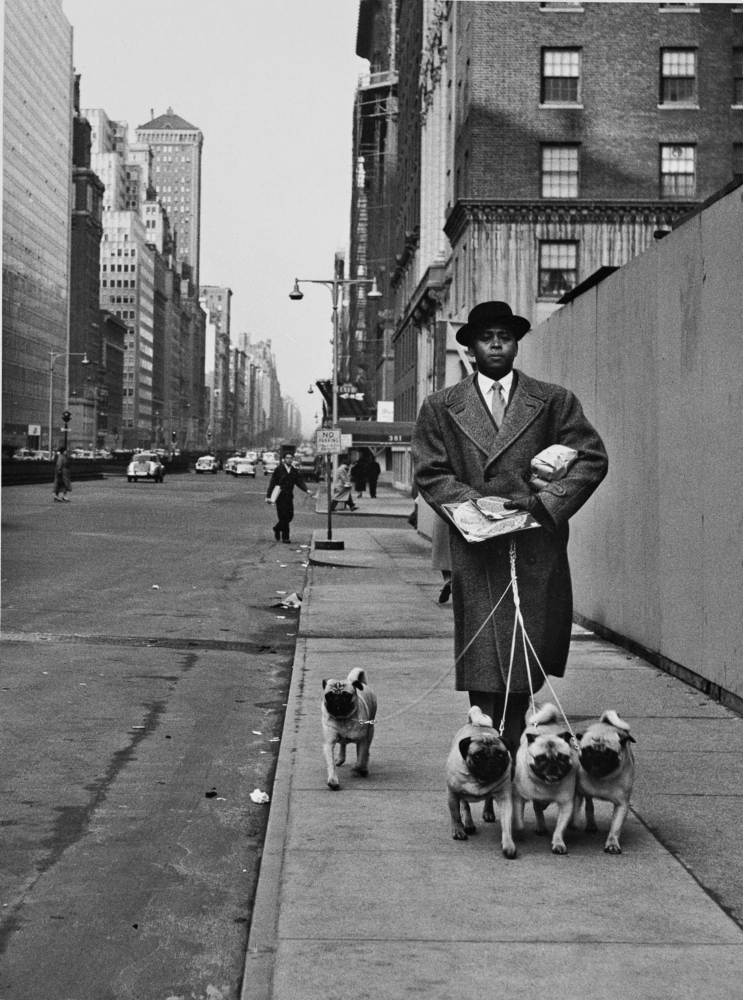 Fotó: Mario de Biasi: Park Avenue, New York, 1956 © Mario de Biasi/Mondadori Portfolio