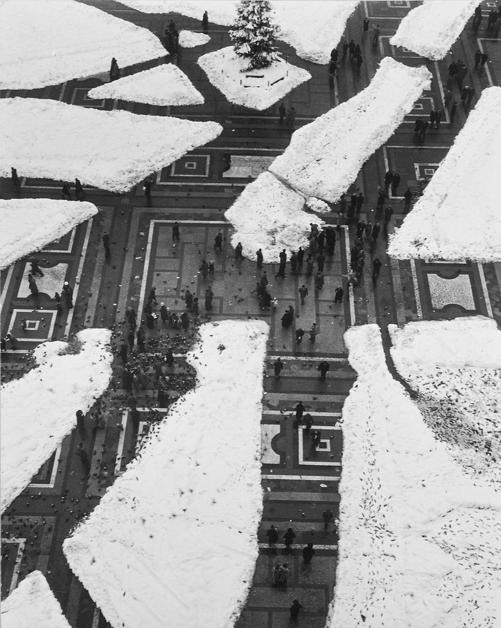 Fotó: Mario de Biasi: Milano, 1951 © Mario de Biasi/Mondadori Portfolio