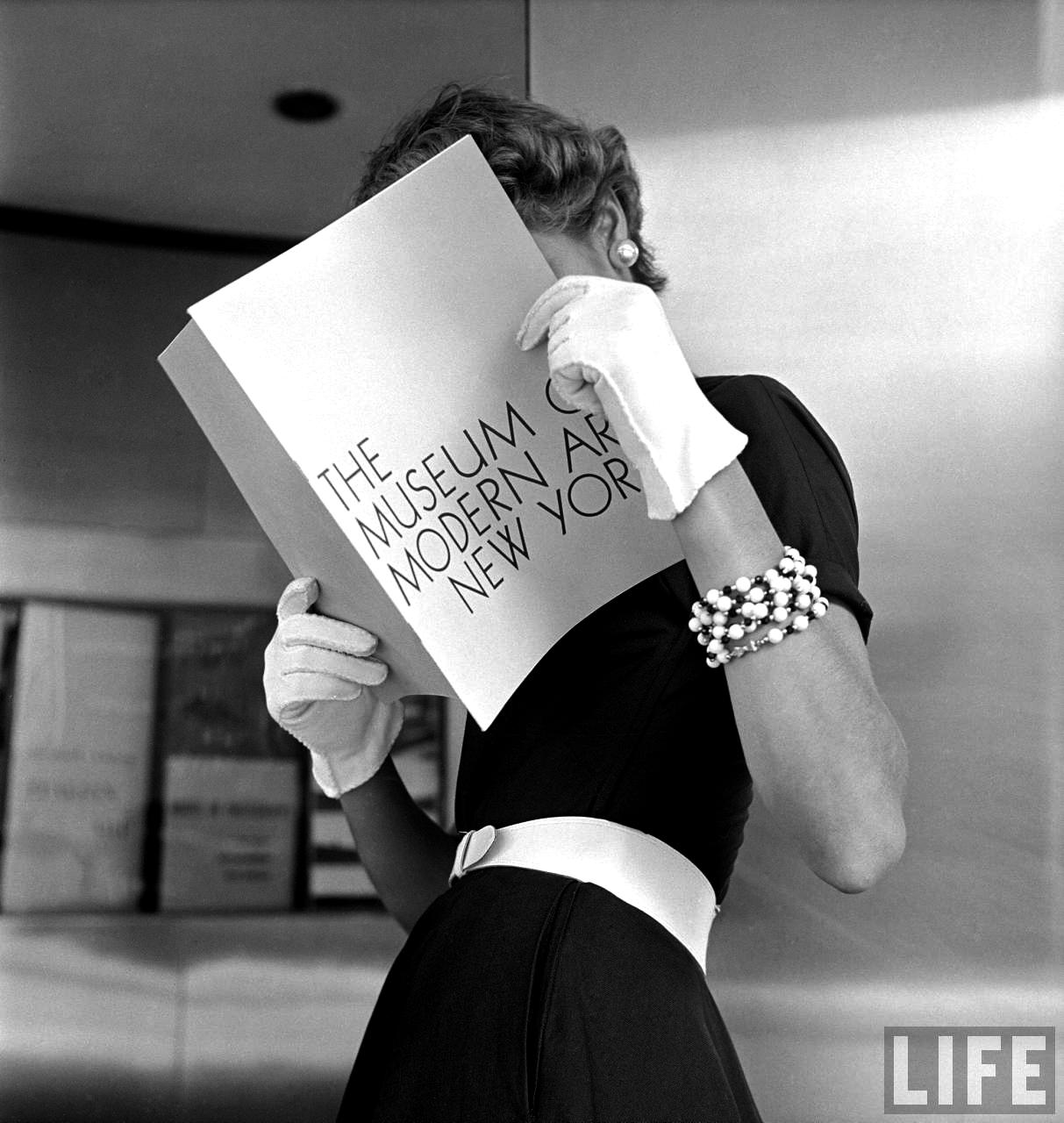 Fotó: Nina Leen: Jean Patchett, 1949 © Nina Leen/Life Magazine