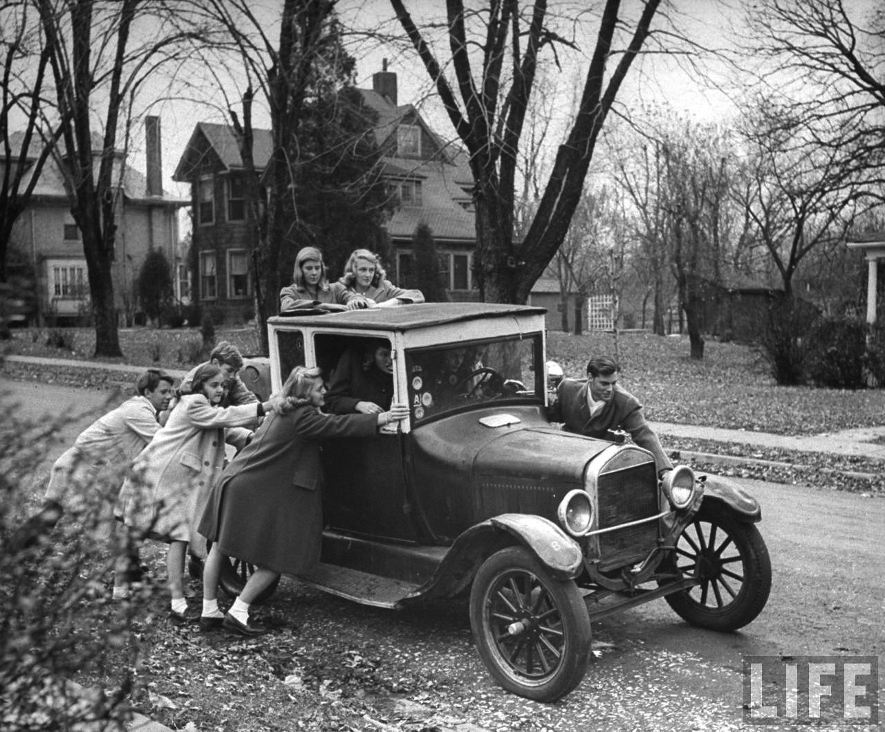 Fotó: Nina Leen: St Louis, 1944 © Nina Leen/Life Magazine