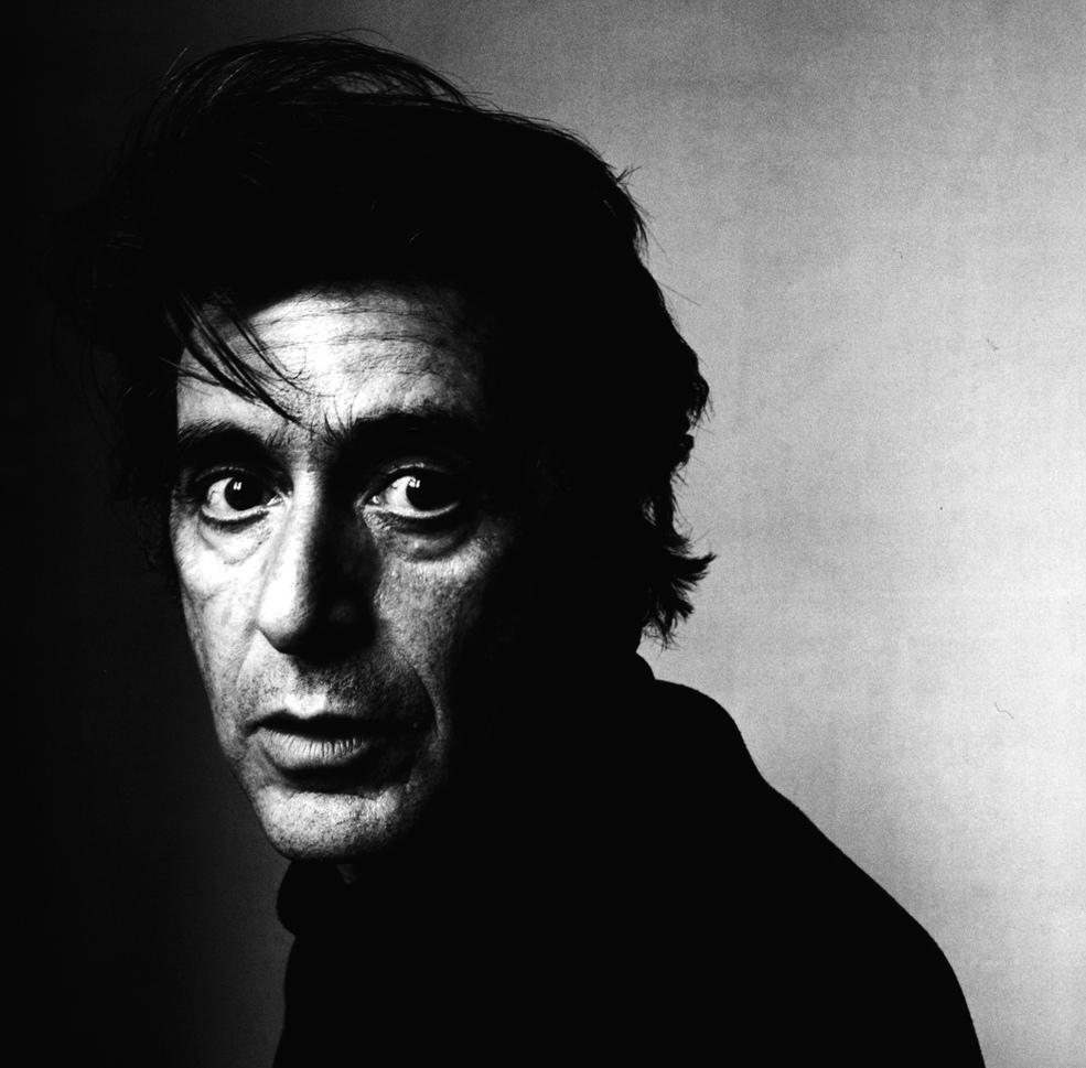 Fotó: Irving Penn: Al Pacino (A), New York, 1995, Gelatin silver print © Condé Nast