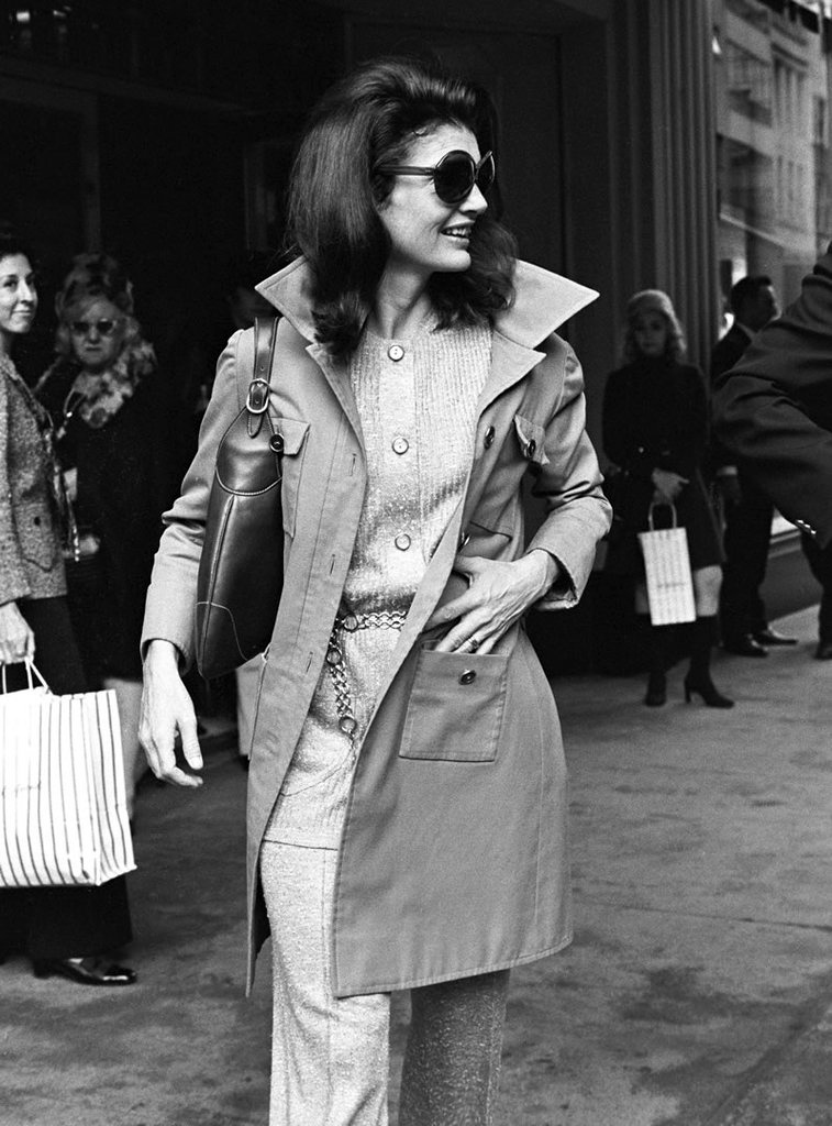 Fotó: Ron Galella: Jacqueline Kennedy Onassis © Ron Galella