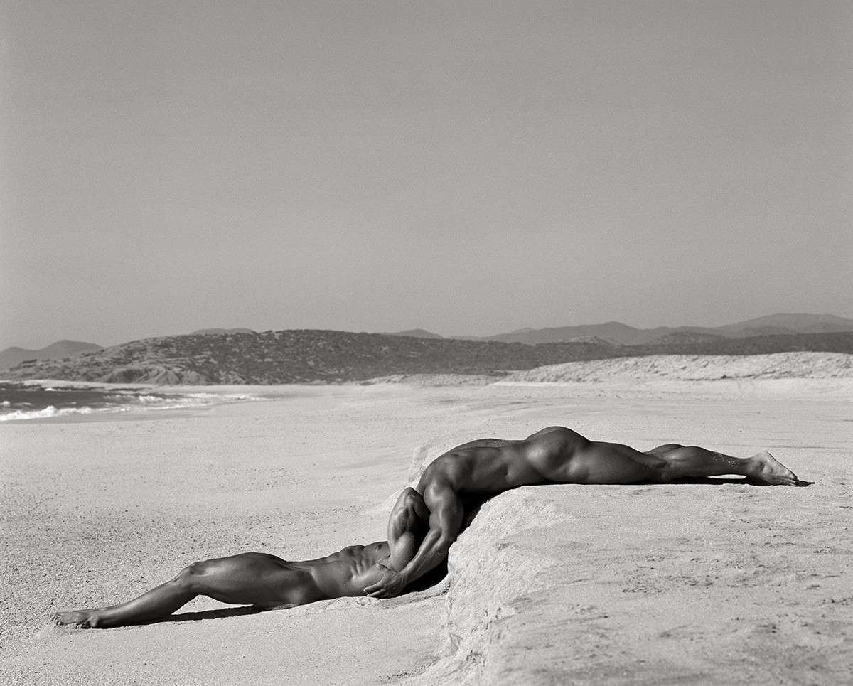 Fotó: Herb Ritts: Duo I, Mexico, 1990 © Herb Ritts Foundation Photograph